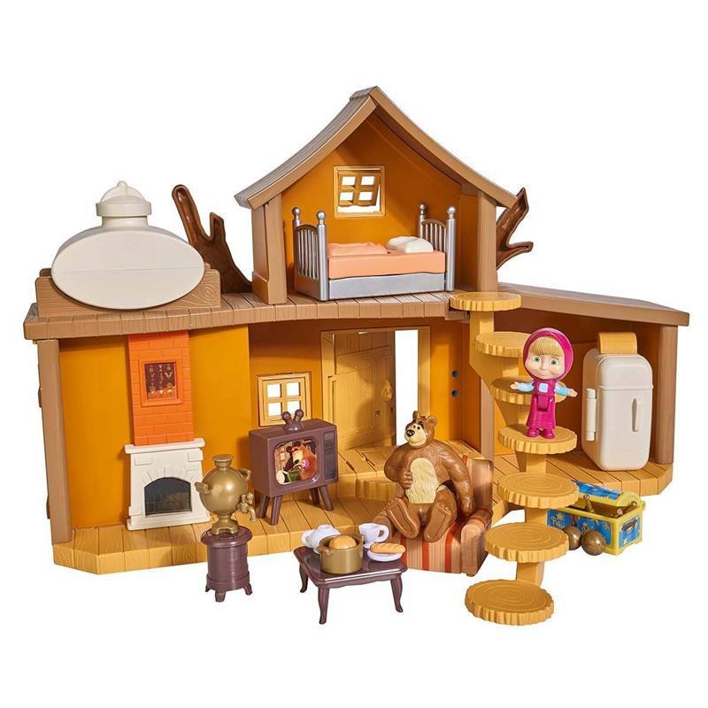 Casa Grande do Urso - Masha e o Urso