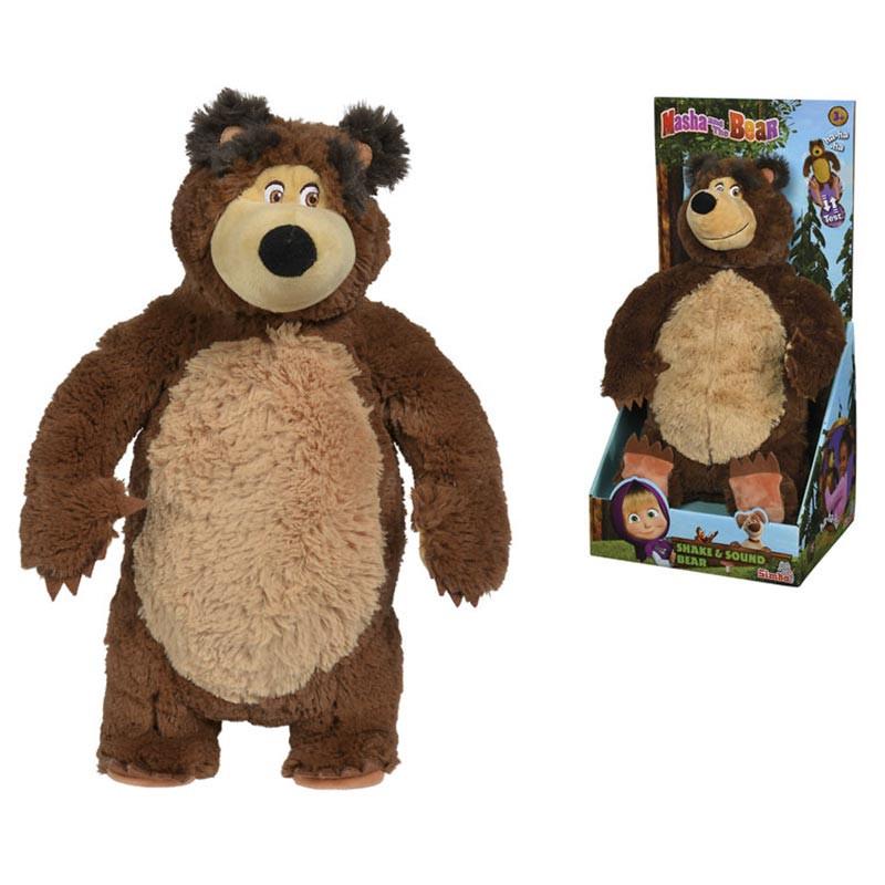 Masha e o urso peluche que ri