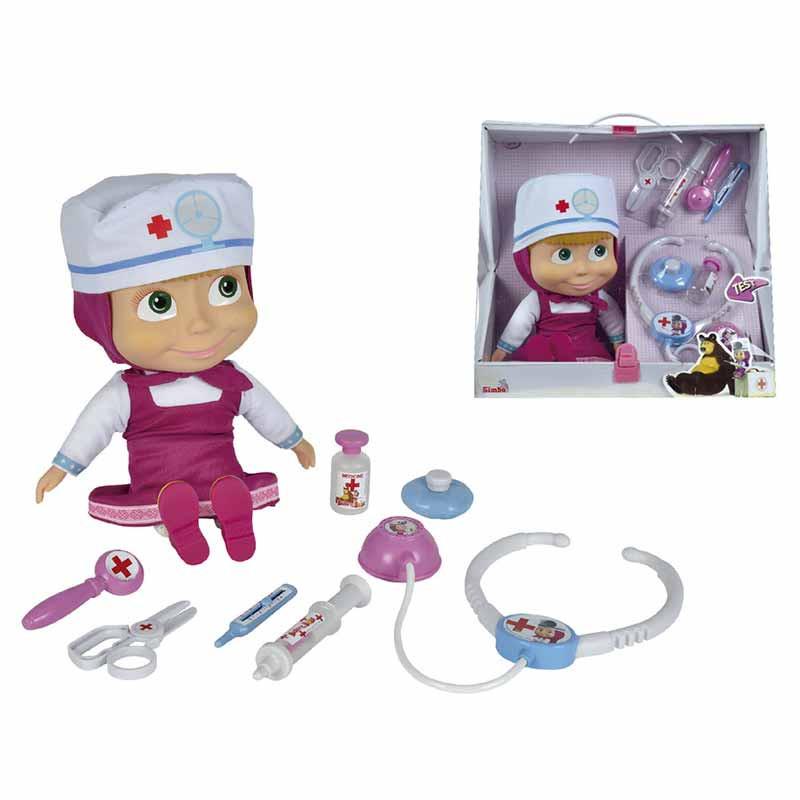 Boneca Masha Doutora com mala
