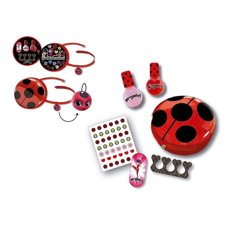 Bolsa de beleza e manicure LadyBug