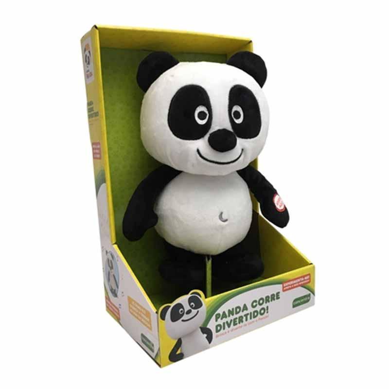 Panda Peluche Corre Divertido