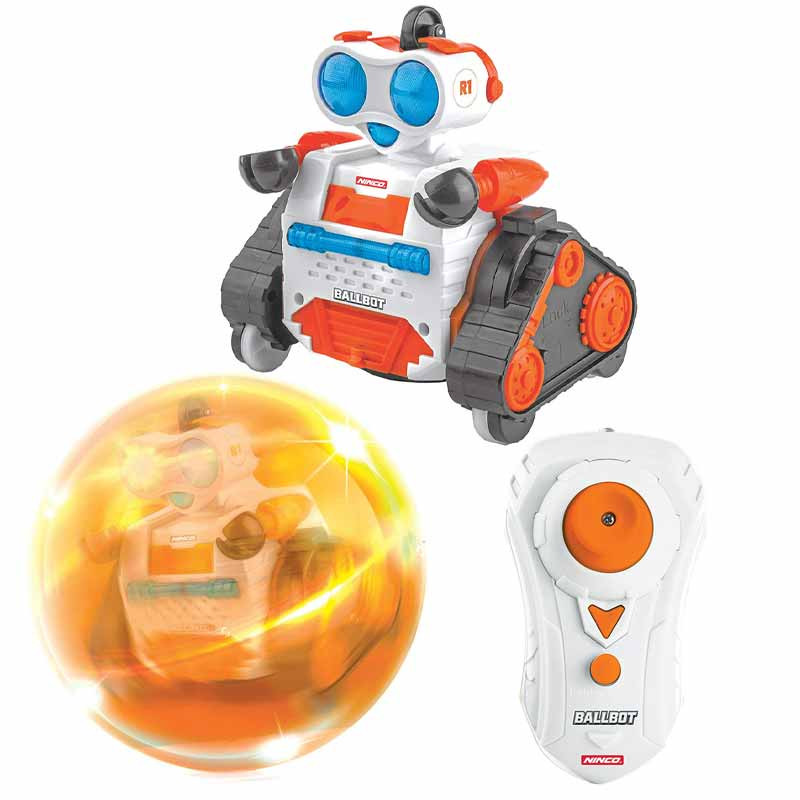 Ninco Air Ball Bot Cor de Laranja