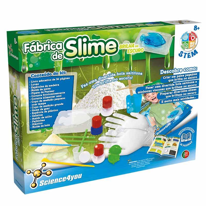 Fábrica de Slime - Brilha no Escuro