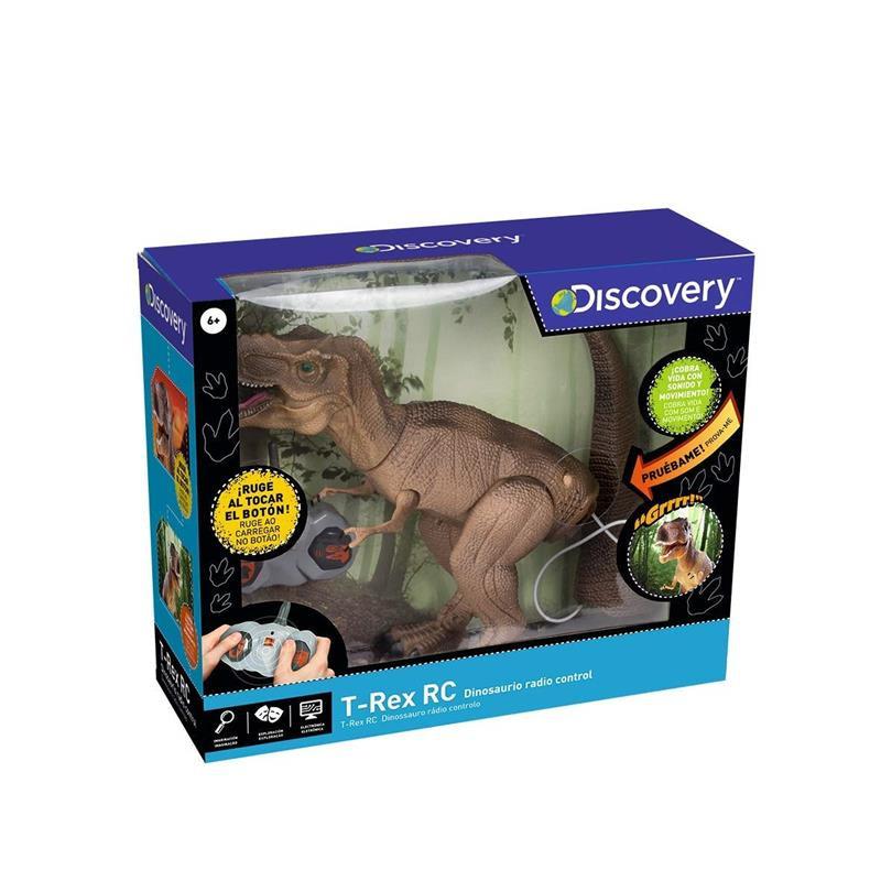 Dino T-Rex Discovery R/C Telecomandado