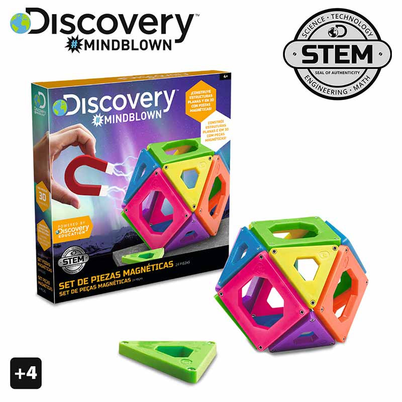 Discovery Mindblown Peças Magneticas