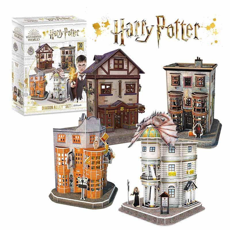 Harry Potter™ Diagon Alley 3D Puzzle Set