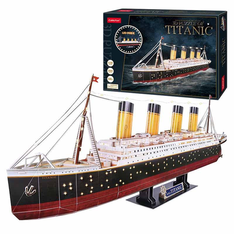 Puzle 3D Titanic LED