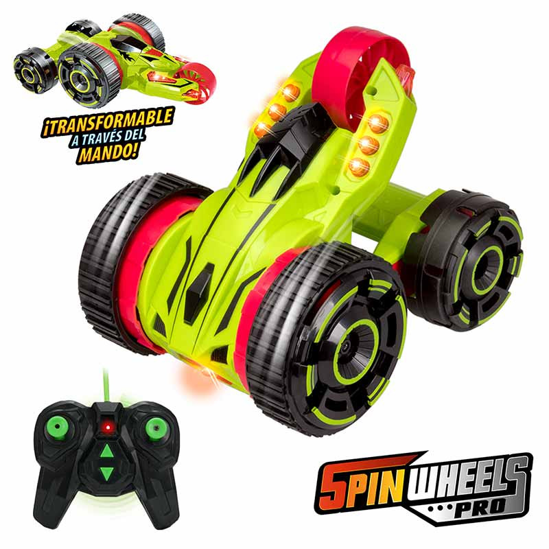 Carro RC Xtrem Riders Spinwheels PRO
