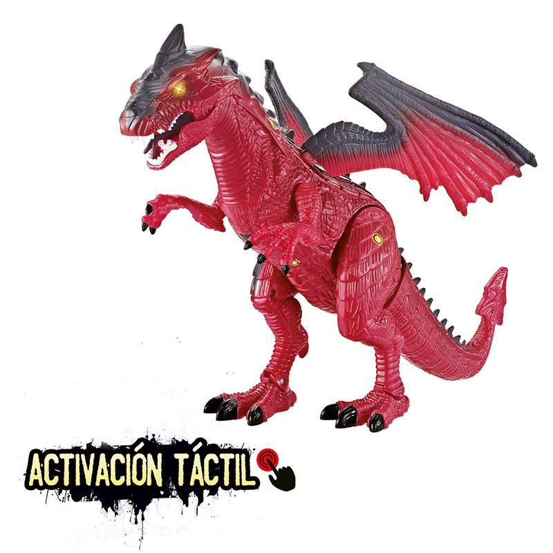 Wild dragons dragão táctil