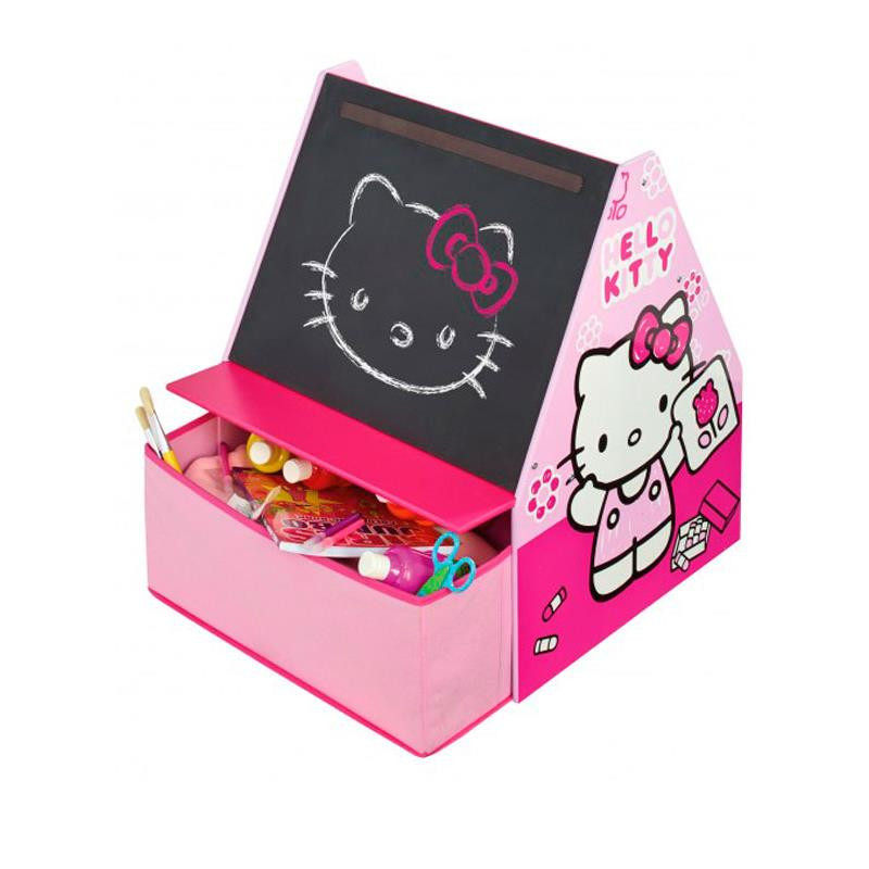 Hello Kitty quadro de giz com gaveta