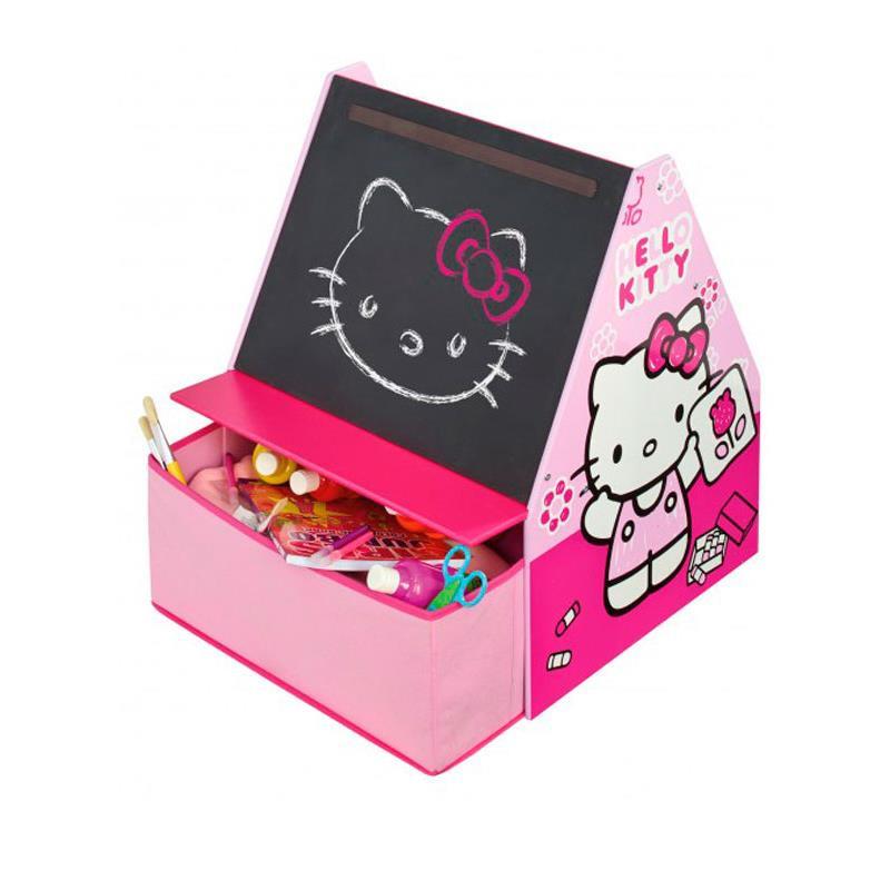 Hello Kitty quadro de giz com gaveta