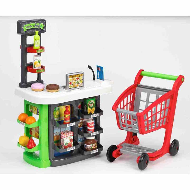 Supermercado Com Carrinho