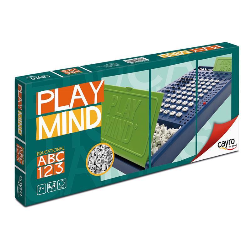 Jogo Play Mind letras (Po)