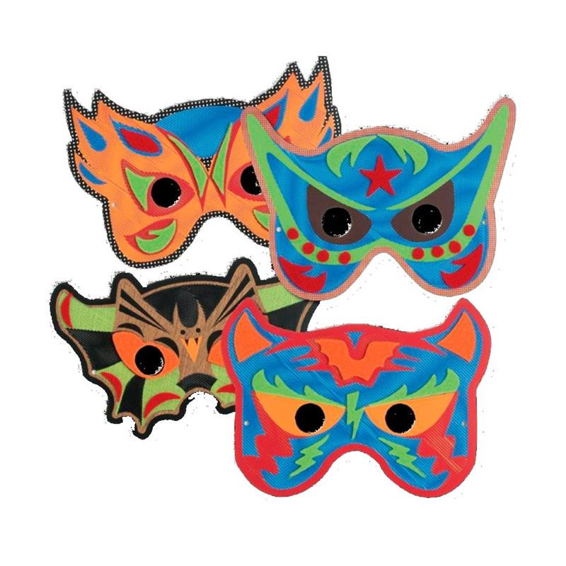 Jogo costura as tuas máscaras Mask Heroes