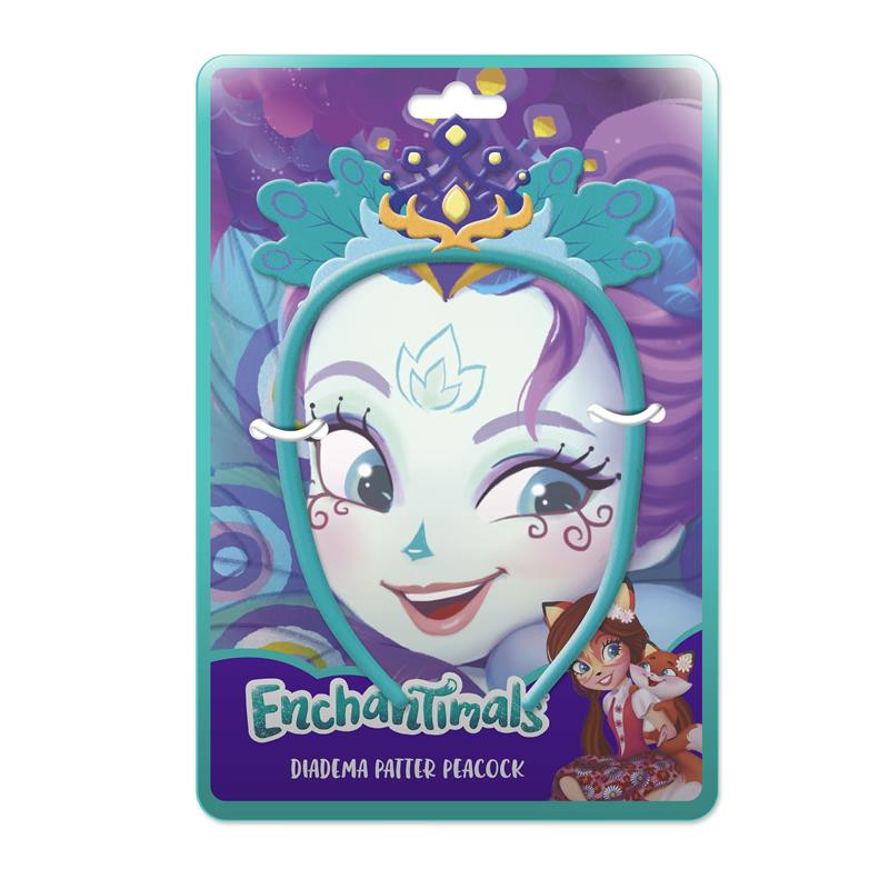Bandelete peluche Enchantimals Patter Peacock