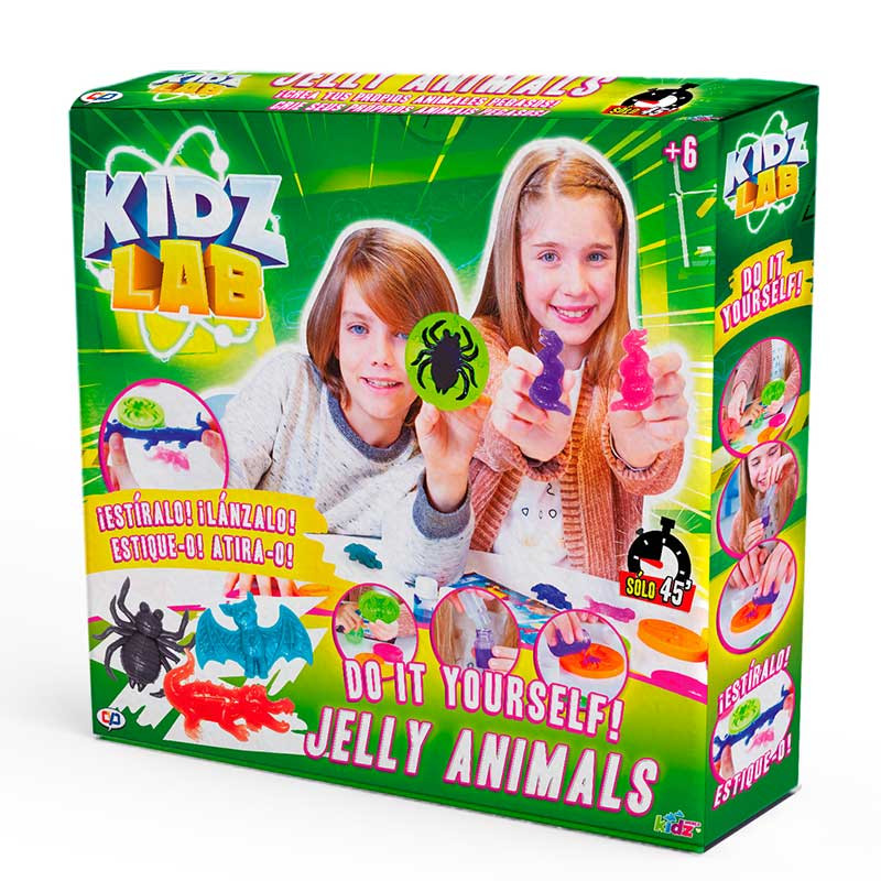 Jogo Laboratorio para Criar Animais de Gelatina Ki