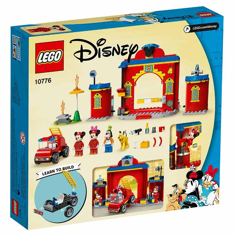 Lego Duplo Camião e Quartel de Bombeiros do Mickey