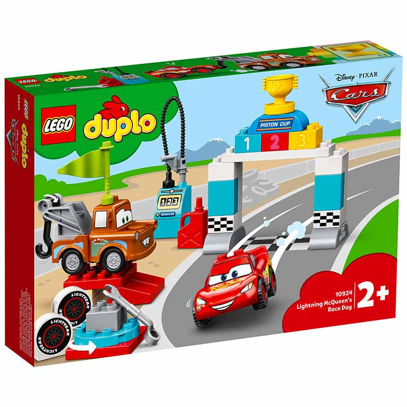 Lego Duplo Cars Dia da Corrida de Faísca McQueen