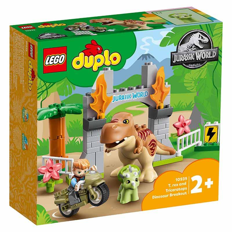 Lego Duplo A Fuga dos Dinossauros