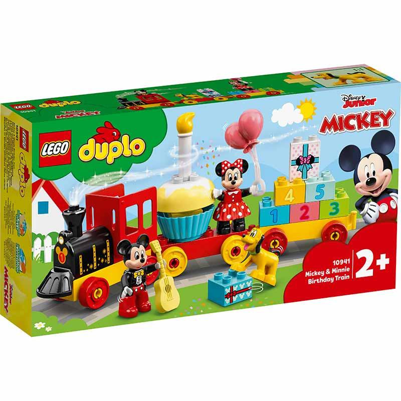 Lego Duplo Comboio Aniversário Mickey e Minnie
