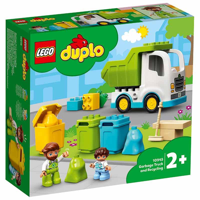 Lego Duplo Camião do Lixo e Reciclagem