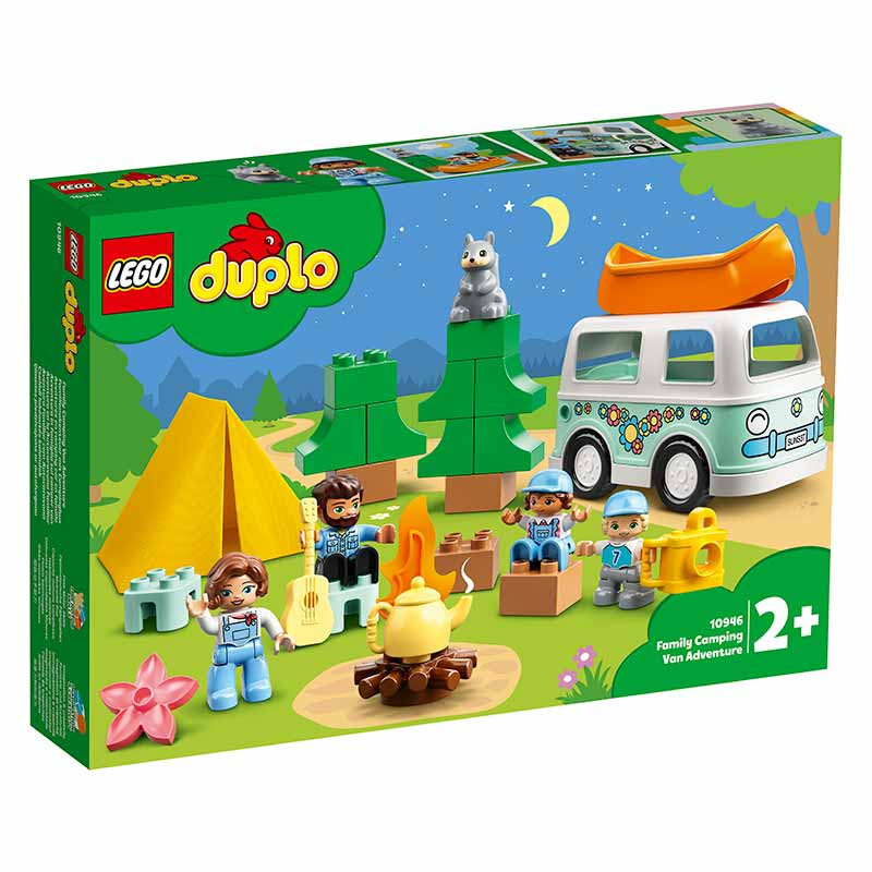 Lego Duplo Aventura Familiar com Autocaravana