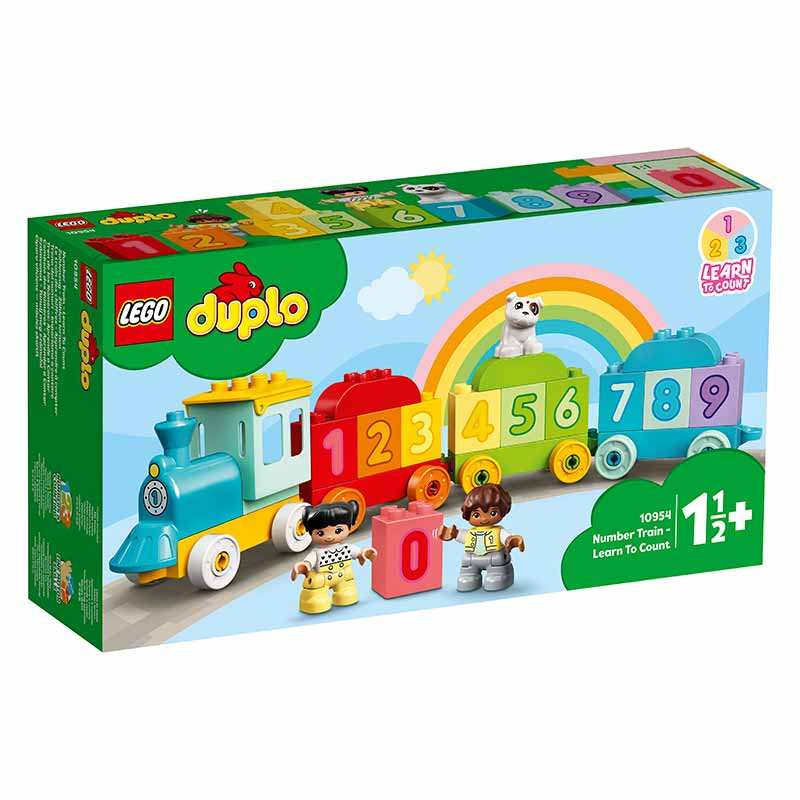 Lego Duplo Comboio dos Números Aprender a Contar