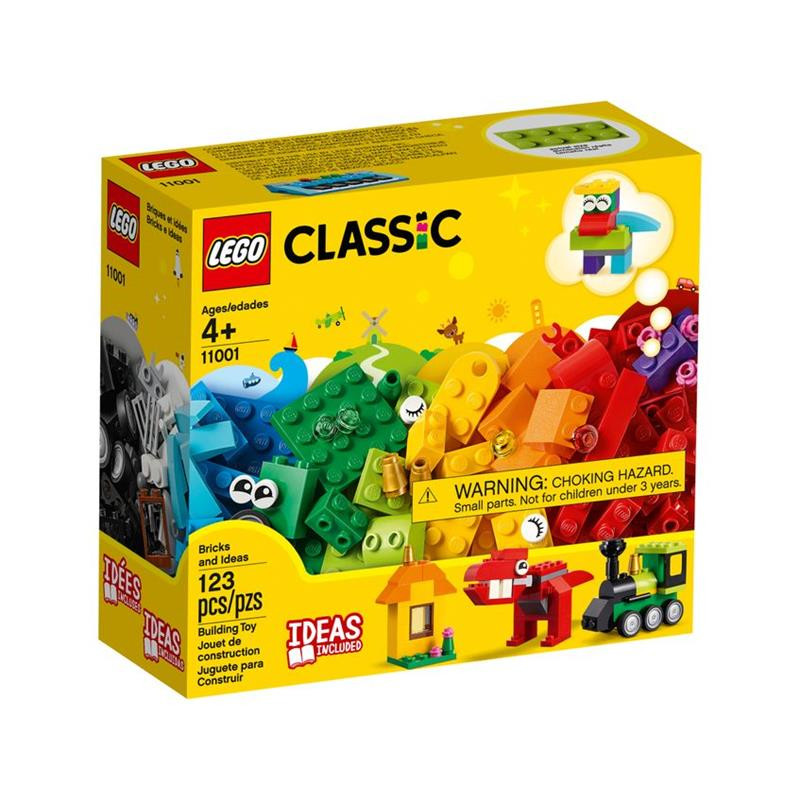 LEGO Classic ladrilhos e ideias