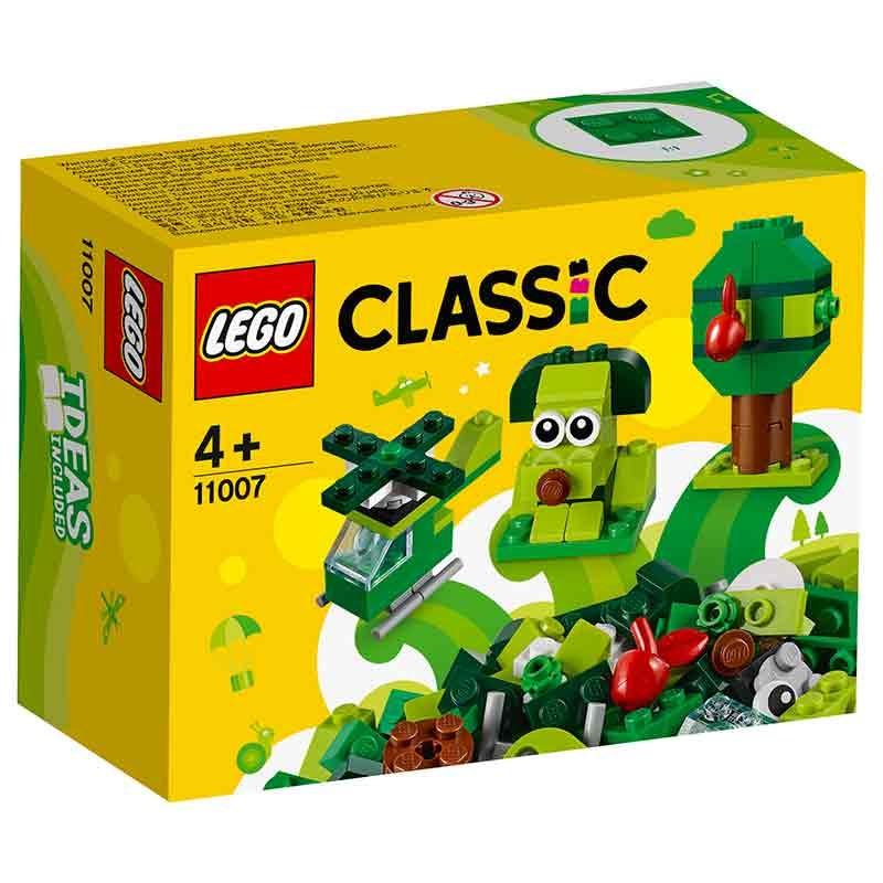Lego Classic Peças Creativas verdes