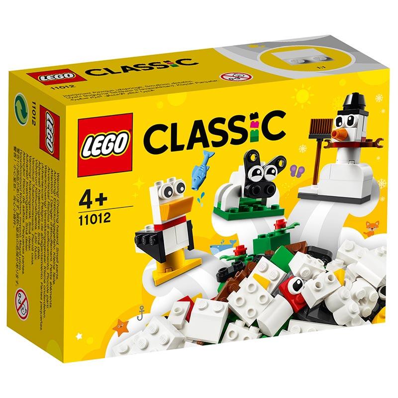 Lego Classic Peças Brancas Criativas