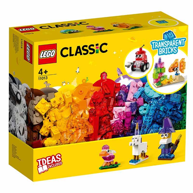 Lego Classic Peças Transparentes Criativas