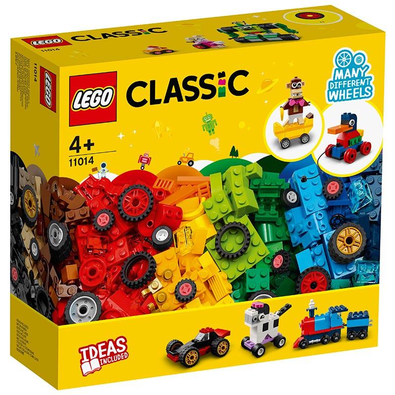 Lego Classic Peças e Rodas