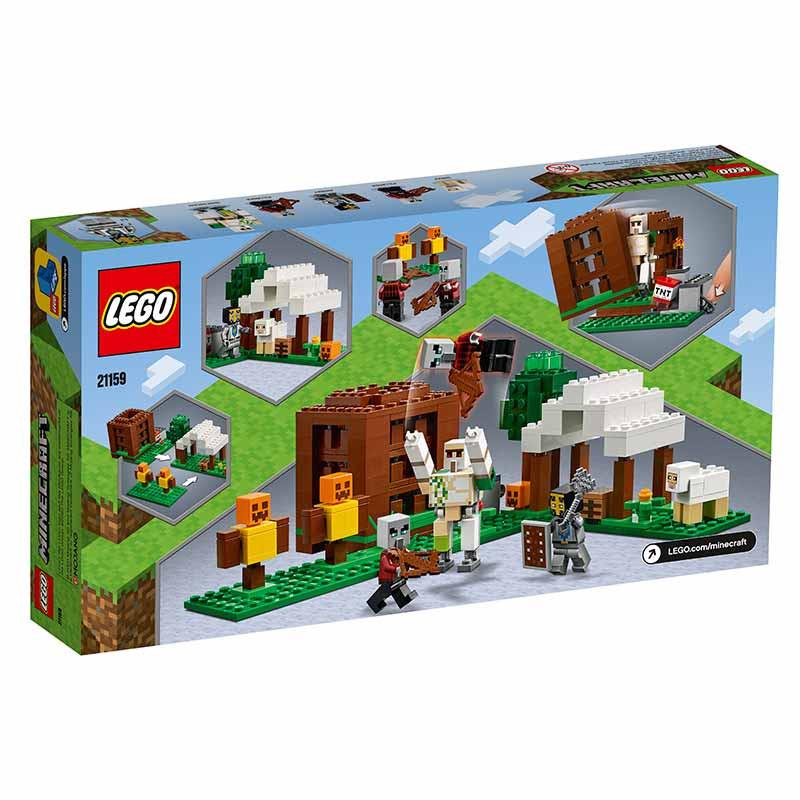 Lego Minecraft O Posto Avançado do Saqueador