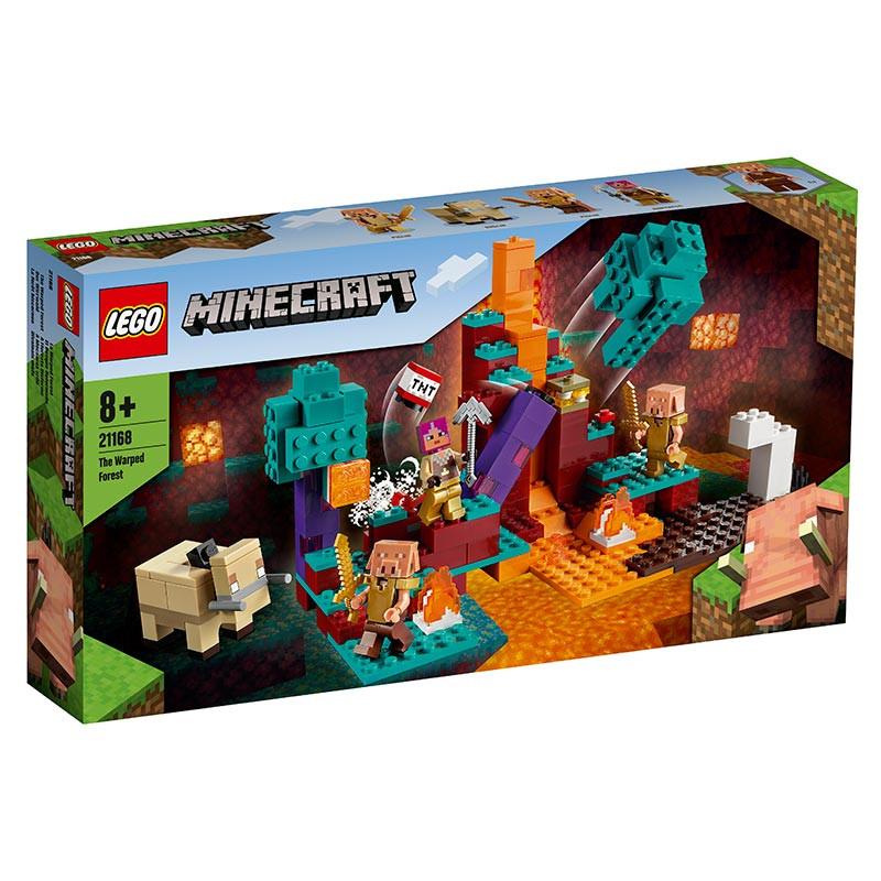 Lego Minecraft A Floresta Disforme