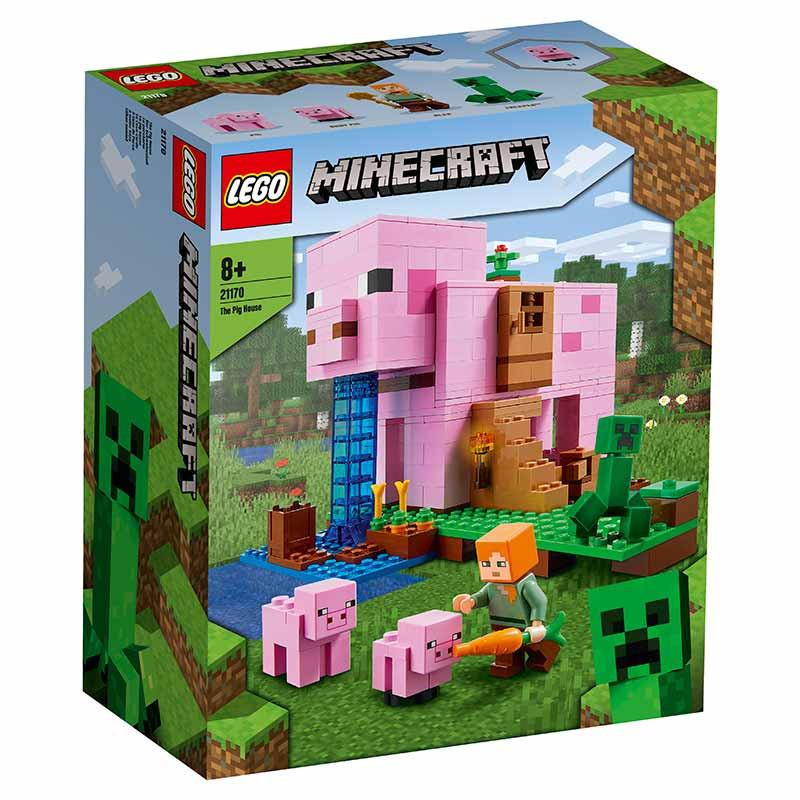 Lego Minecraft A Casa do Porco