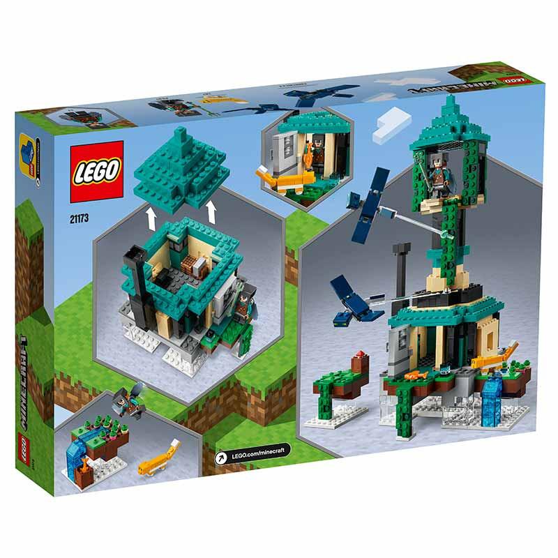 Lego Minecraft A Torre Aérea