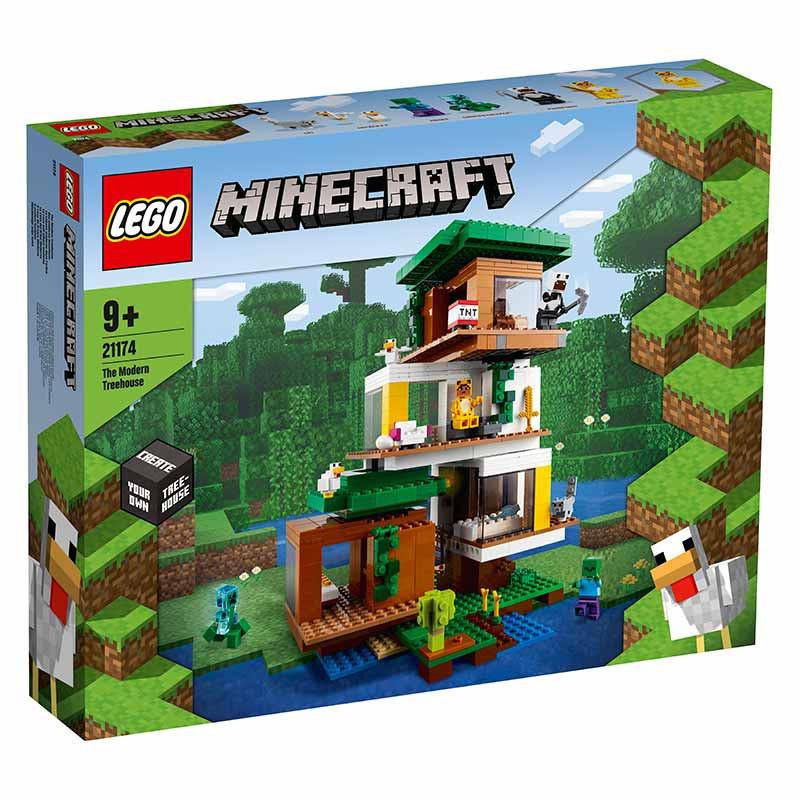 Lego Minecraft A Casa da Árvore Moderna