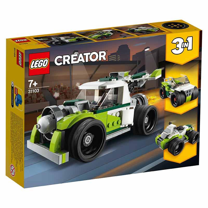 Lego Creator Camião com reator