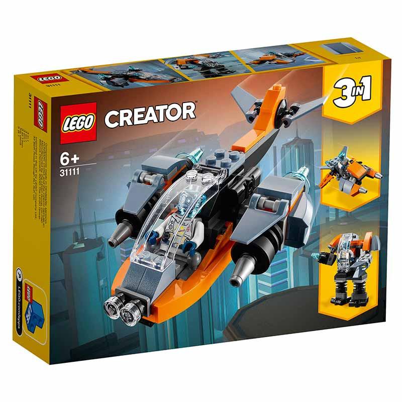 Lego Creator Ciberdrone