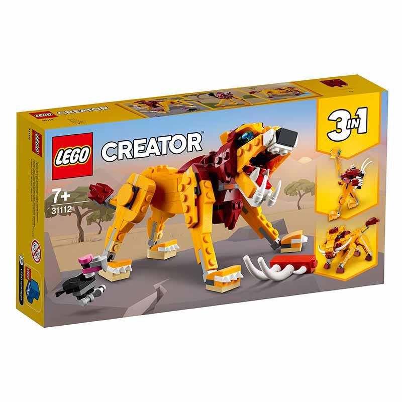 Lego Creator Leão Selvagem