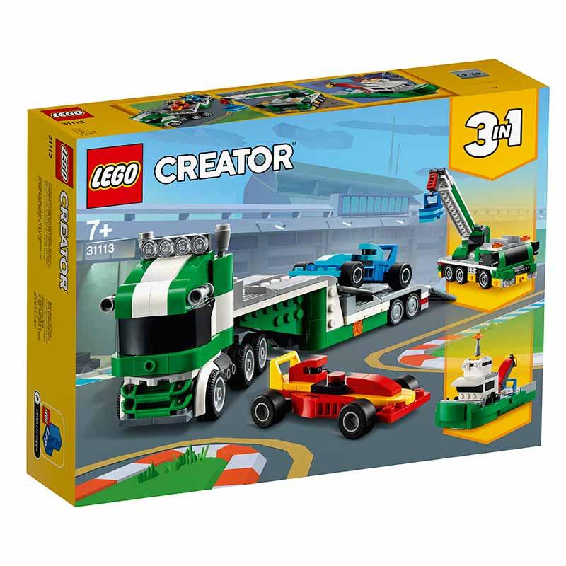 Lego Creator Transportador de Carros de Corrida