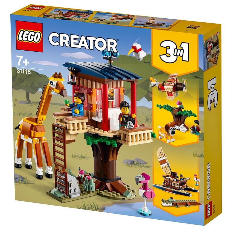Lego Creator Safari Casa na Árvore