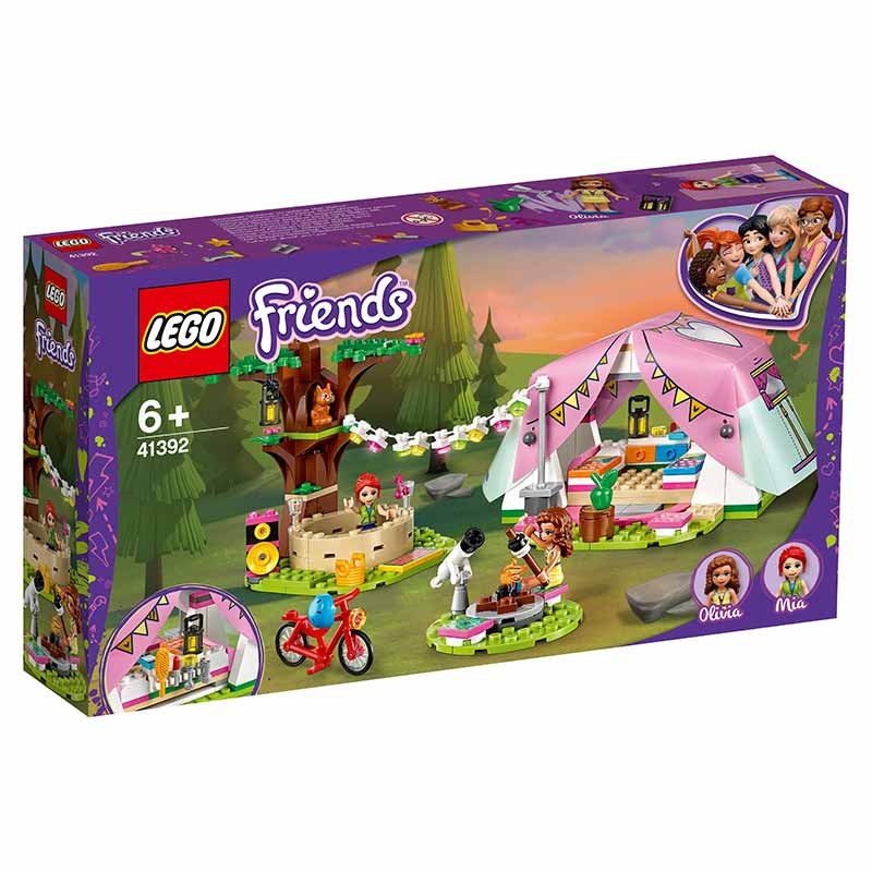 Lego Friends Glamping na natureza