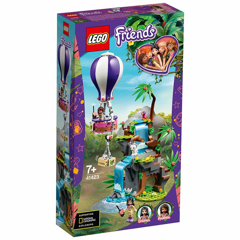 Lego Friends O Resgate Tigre em Balão Ar Quente