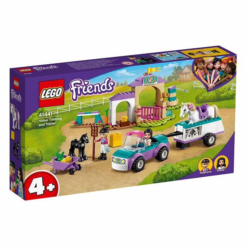 Lego Treino de Cavalos e Reboque