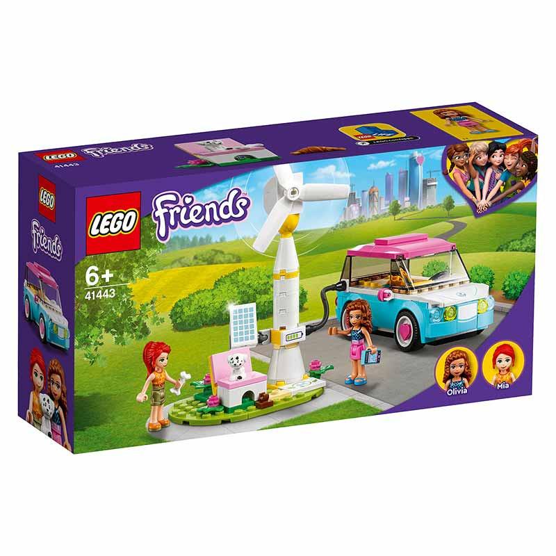Lego Friends Carro Elétrico da Olivia