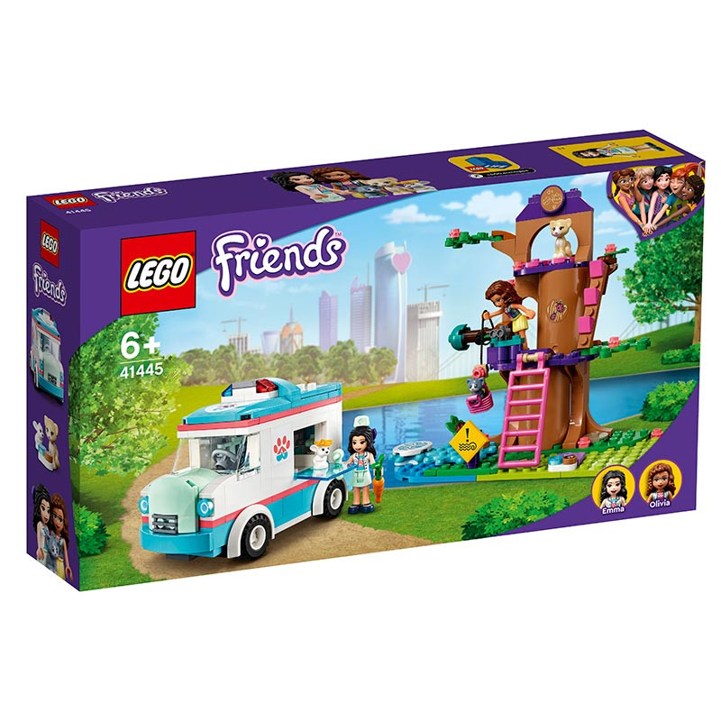 Lego Friends Ambulância da Clínica Veterinária