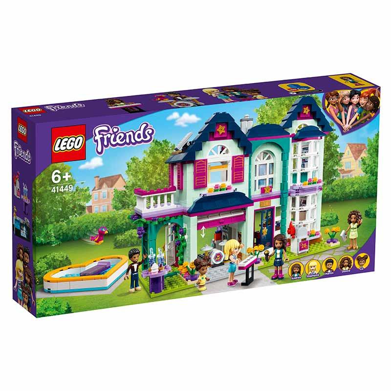 Lego Friends Casa Familiar de Andrea