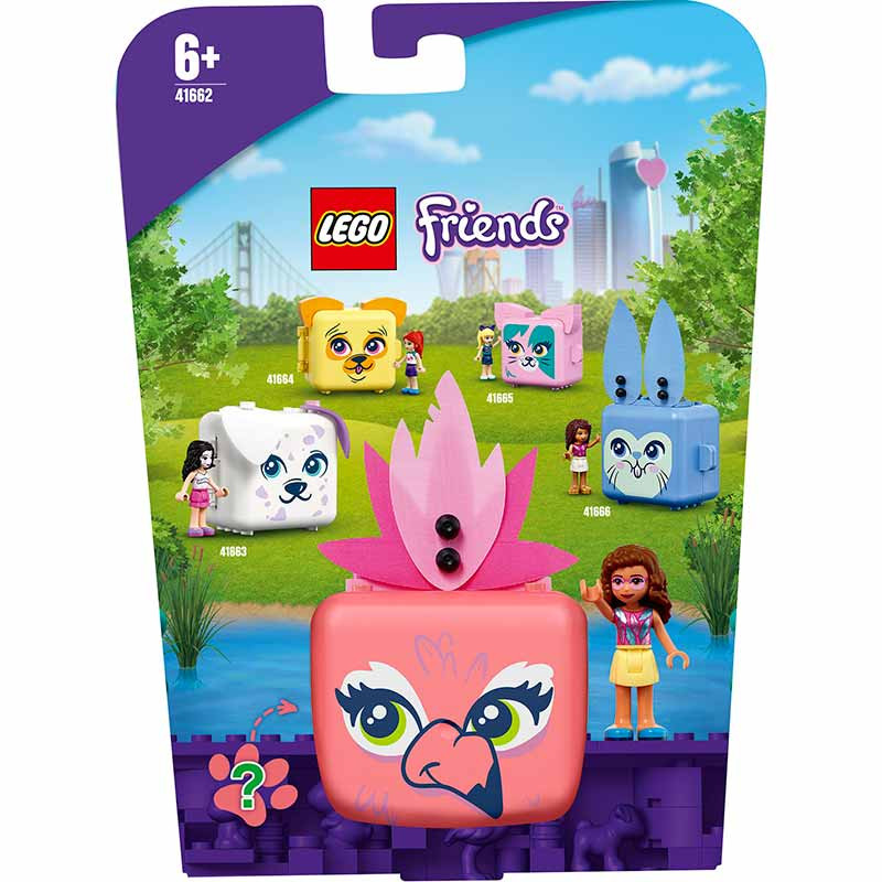 Lego Friends Cubo Flamingo da Olivia