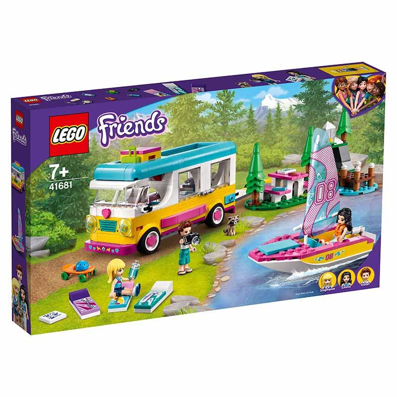 Lego Friends Floresta Autocaravana e Barco à Vela